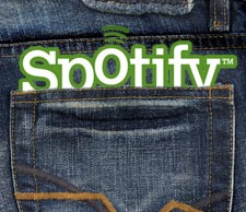 Spotify Logo in a Pocket