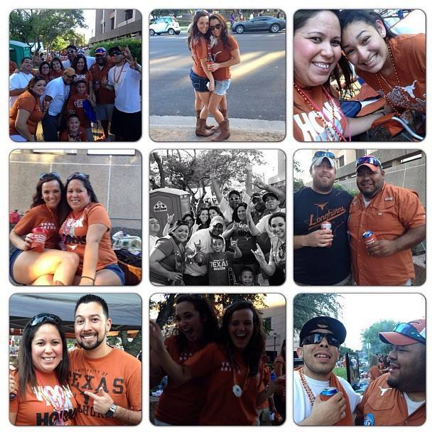At The University of Texas at Austin, HOOK EM HORNS!!! - Photos by Paul M.
