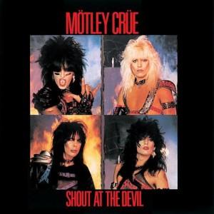Motley Crue - Shout At The Devil Album Cover