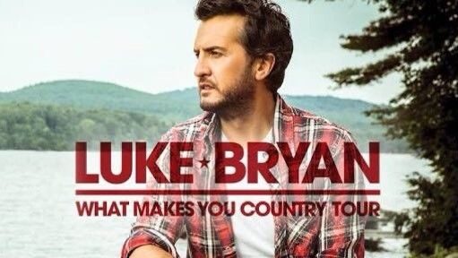 Luke Bryan Tickets - What Makes You Country Tour