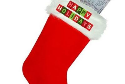 Tickets in stocking