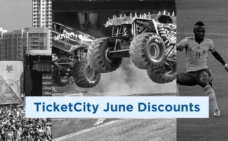 June TicketCity Discounts