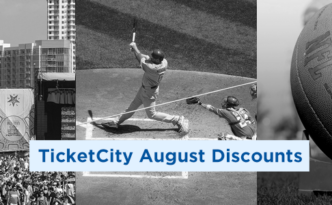 Save 10% on Concerts & Baseball at TicketCity in August