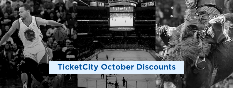 TicketCity Coupons 2019 October
